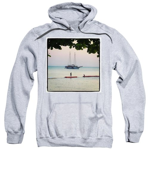 Sweatshirt featuring the photograph Idyllic Setting To Idle The Time Away by Mr Photojimsf