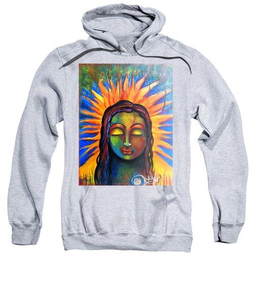 Illuminated By Her Own Radiant Self Sweatshirt
