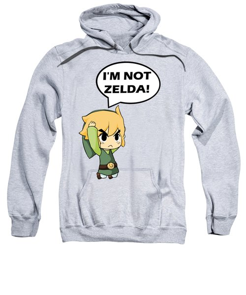 I'm Not Zelda Sweatshirt