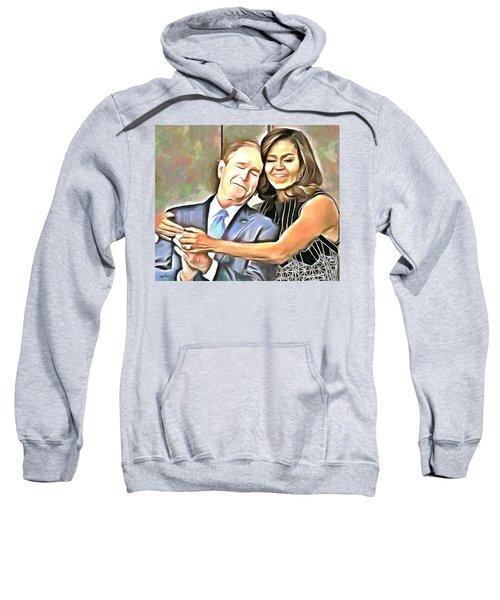 Imagine All The People Sweatshirt by Wayne Pascall
