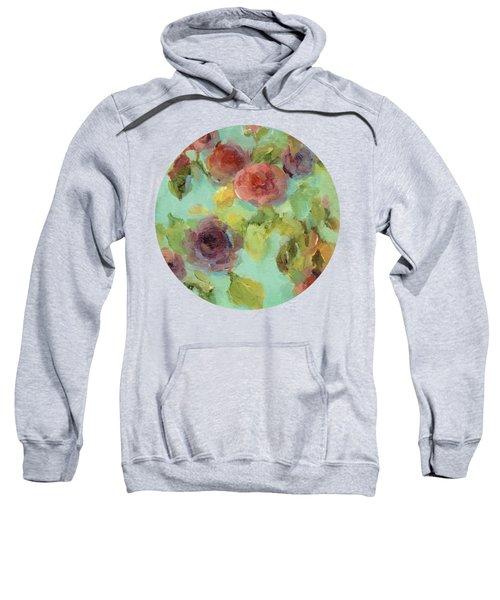 Impressionist Floral  Sweatshirt