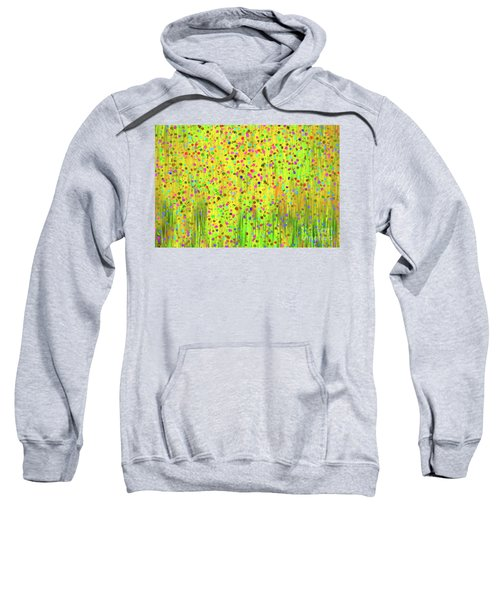 Impressionist Meadow Sweatshirt by Silvia Ganora
