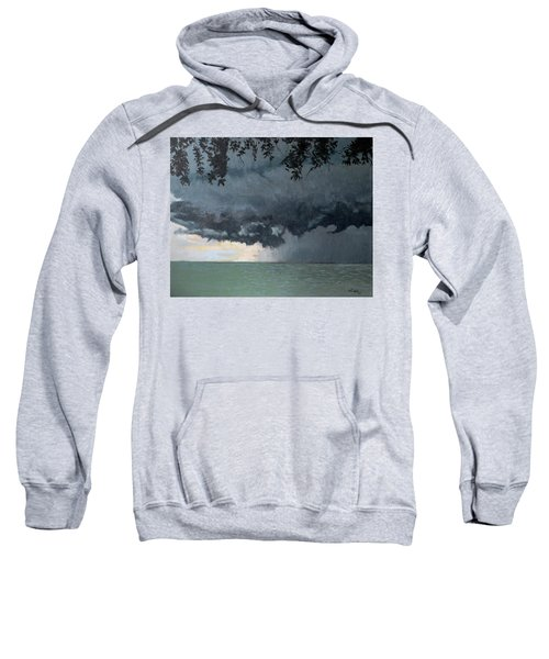 In Coming Storm-epping Forest On The Lake Sweatshirt