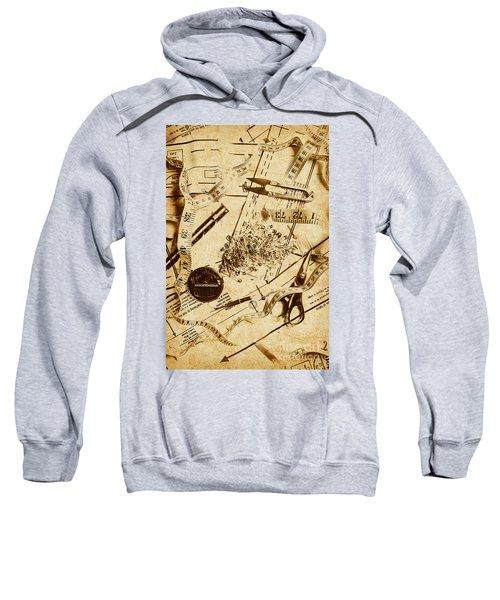 In Fashion Of Vintage Sewing Sweatshirt