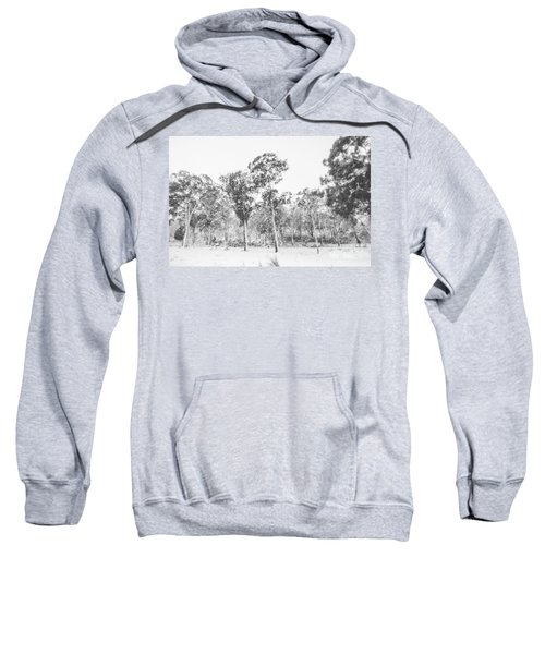 In Gusts Of A Snowstorm Sweatshirt