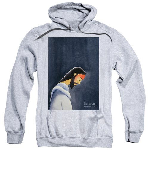 In His Agony Jesus Prays In Gethsemane To His Father Sweatshirt