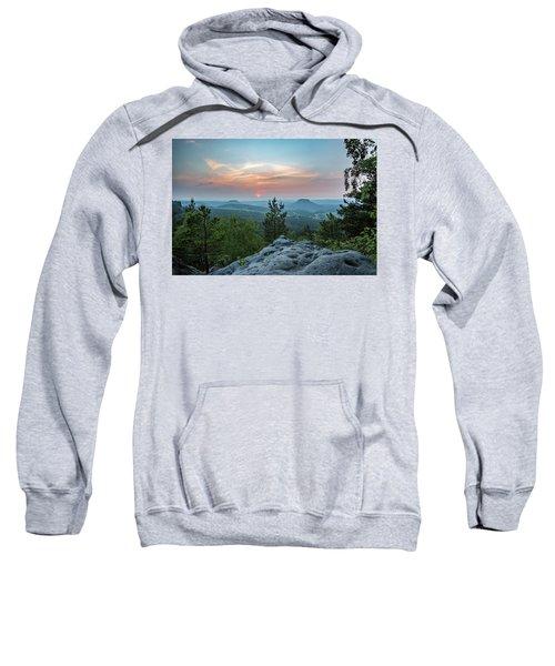 In The Land Of Mesas Sweatshirt