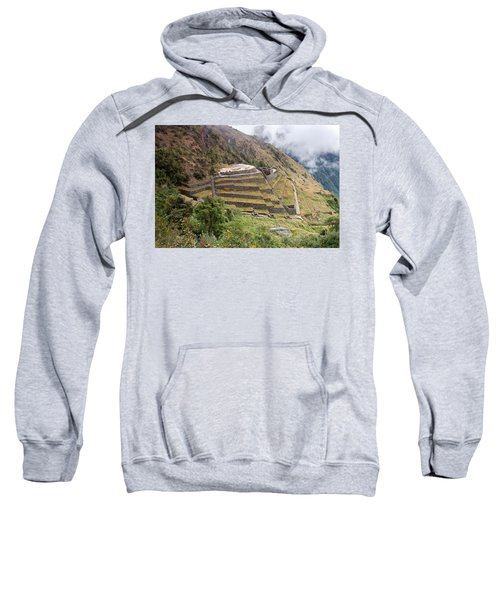 Inca Ruins And Terraces Sweatshirt