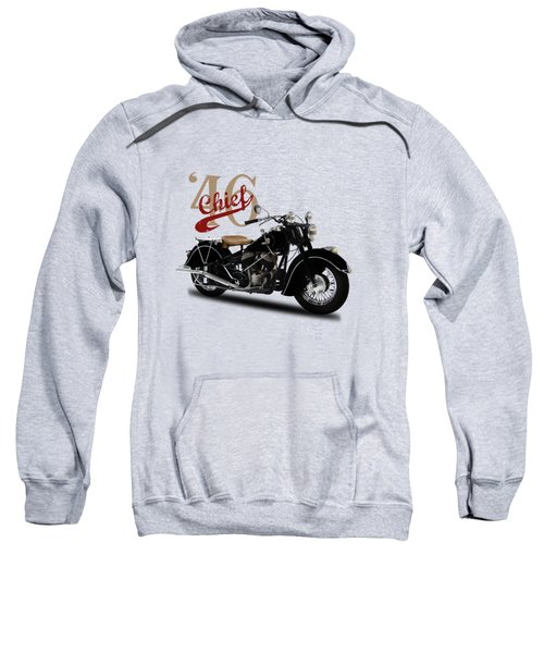 Indian Chief 1946 Sweatshirt by Mark Rogan