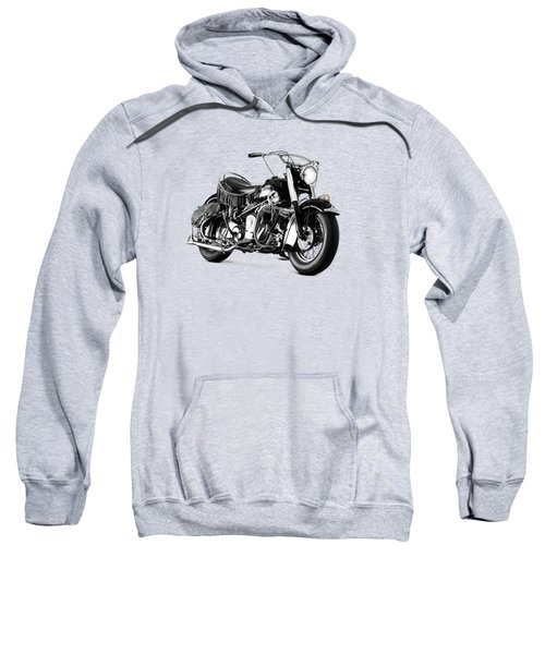 Indian Chief Roadmaster 1953 Sweatshirt by Mark Rogan