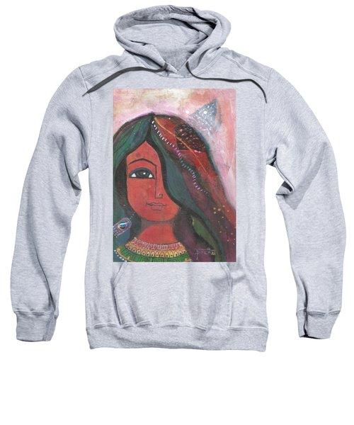 Indian Rajasthani Woman Sweatshirt