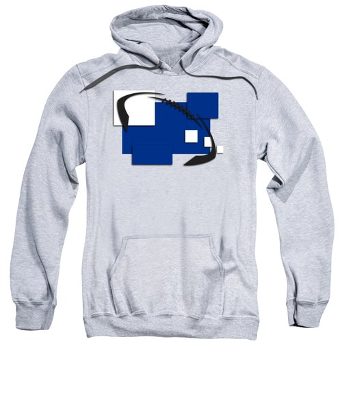 Indianapolis Colts Abstract Shirt Sweatshirt by Joe Hamilton