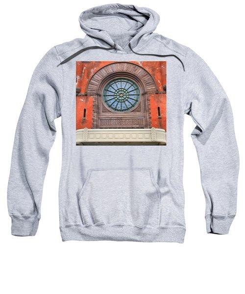 Indianapolis Union Station Building Sweatshirt
