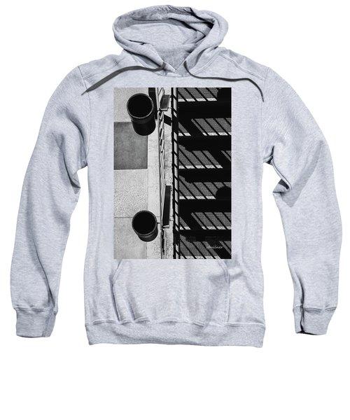 Industrial Motif Sweatshirt