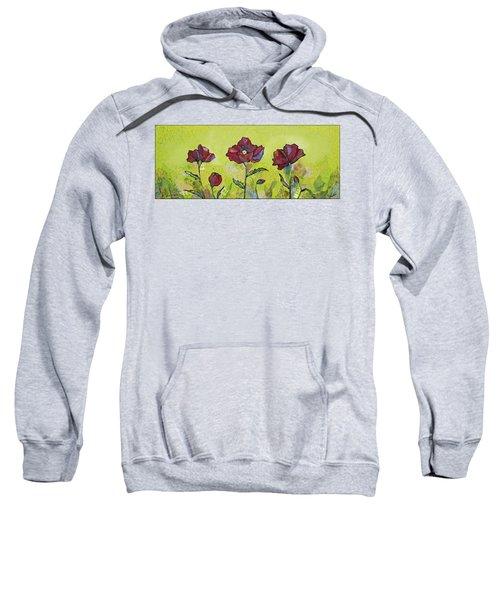 Intensity Of The Poppy I Sweatshirt