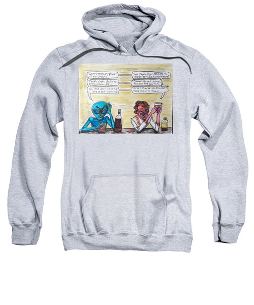 Intergalactic Reality Check Sweatshirt