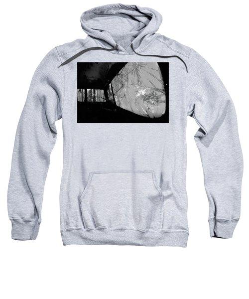 Interior In Gray Sweatshirt
