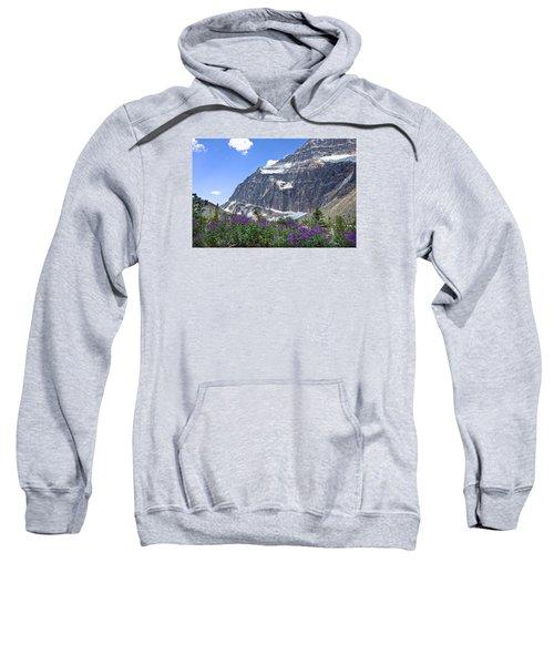 Interpretive Apps In The Canadian Rockies Sweatshirt