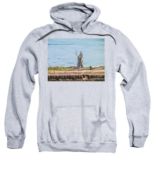 Intertwined Thoughts By The Ocean Sweatshirt