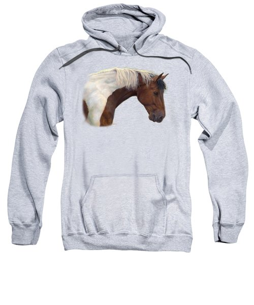 Intrigued Sweatshirt by Lucie Bilodeau