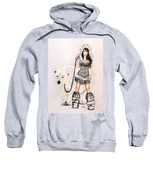 Inuit Pin-up Girl Sweatshirt