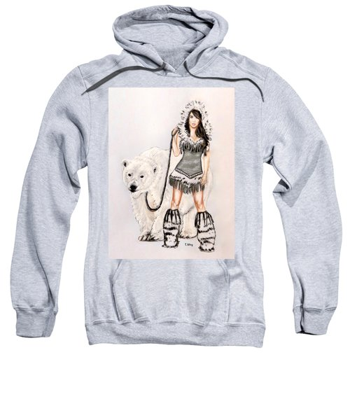 Inuit Pin-up Girl Sweatshirt