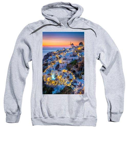 Oia Sunset Sweatshirt