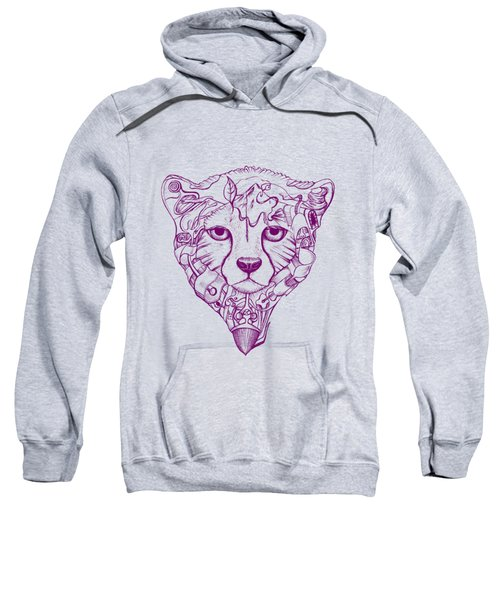 Iranian Cheetah Sweatshirt by Adam Campbell