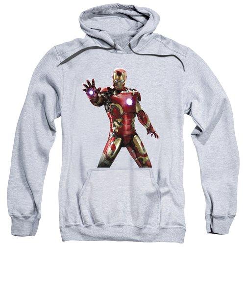 Iron Man Splash Super Hero Series Sweatshirt