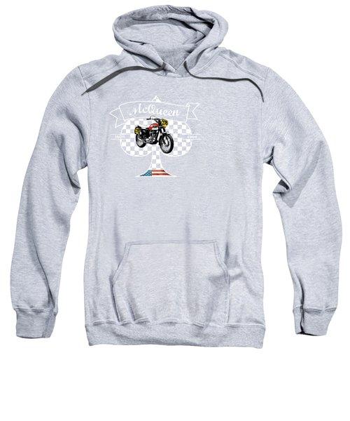 Isdt Triumph Steve Mcqueen Sweatshirt by Mark Rogan