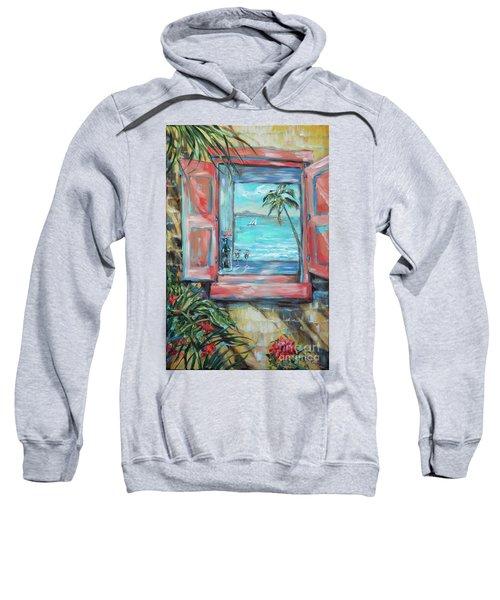 Island Bar Coral Sweatshirt