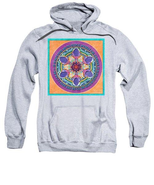 It Is Enough Mandala Prayer Sweatshirt