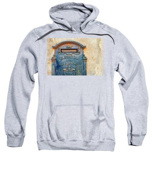 Italian Mailbox Sweatshirt by Silvia Ganora