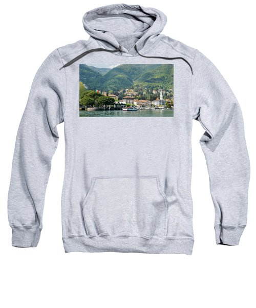 Italian Village On Lake Como Sweatshirt