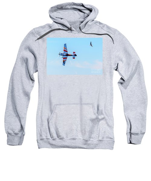 It's A Bird And A Plane, Red Bull Air Show, Rovinj, Croatia Sweatshirt