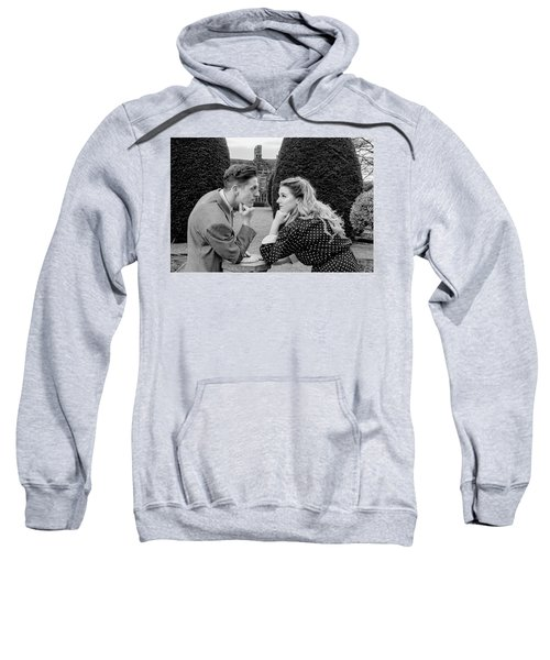 It's In The Eyes Bw Sweatshirt