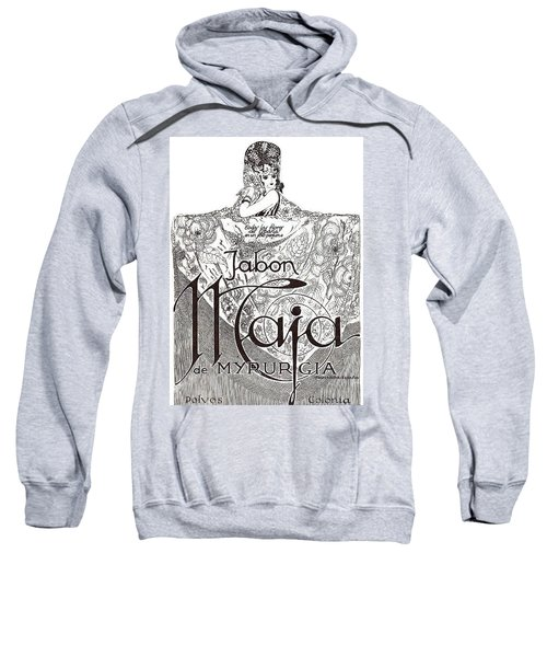 Sweatshirt featuring the digital art Jabon by ReInVintaged