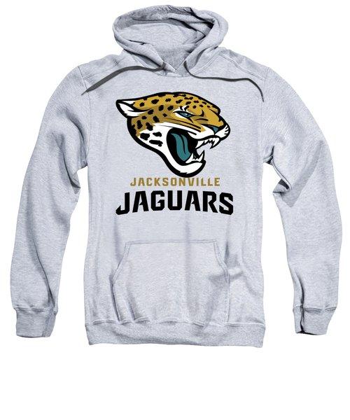 Jacksonville Jaguars On An Abraded Steel Texture Sweatshirt