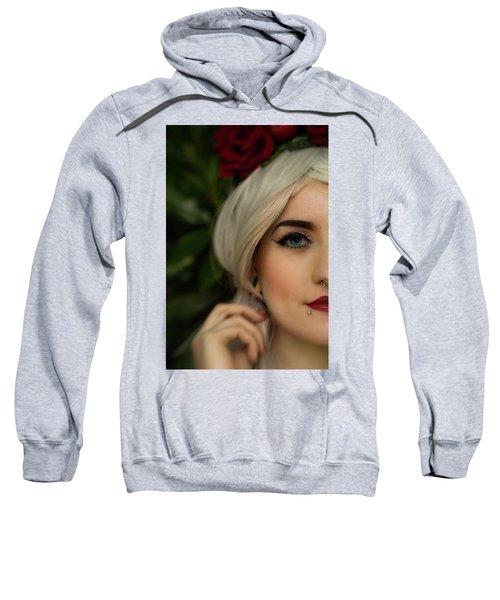 Jade Close Crop Sweatshirt