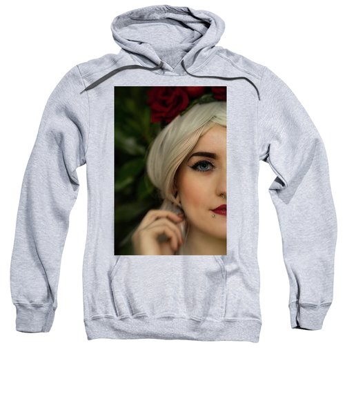 Jade Close Crop Sweatshirt