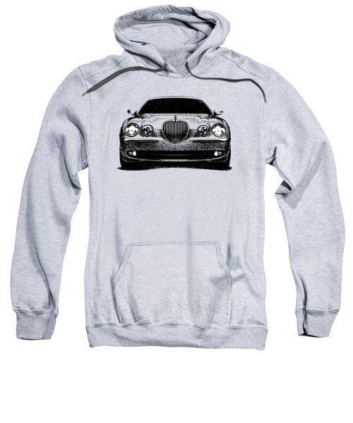 Jaguar S Type Sweatshirt by Mark Rogan