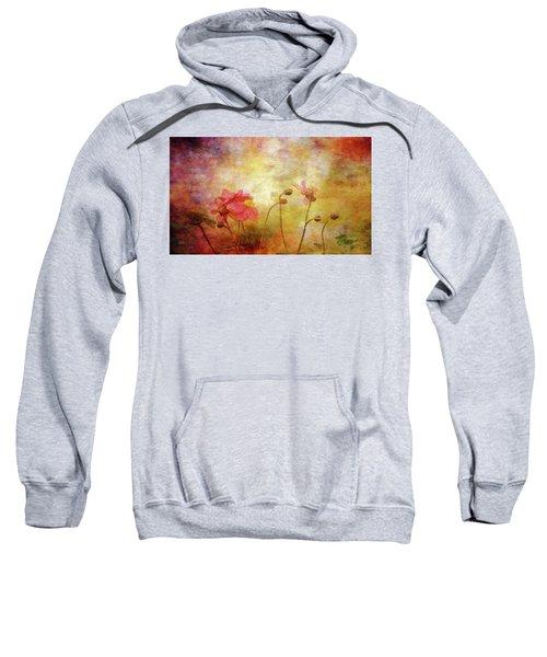 Japanese Anemone Landscape 3959 Idp_2 Sweatshirt