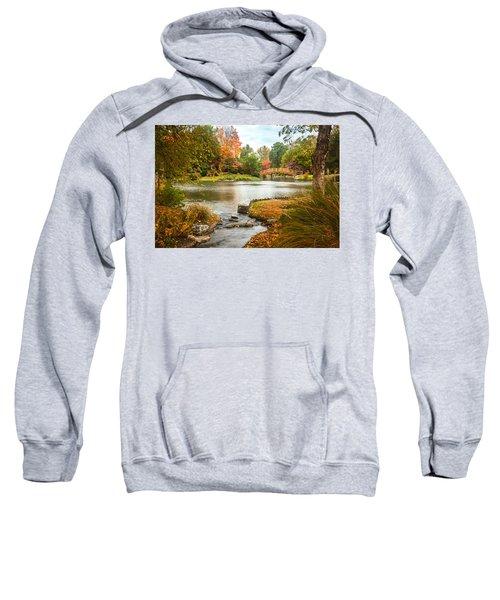 Japanese Garden Bridge Fall Sweatshirt