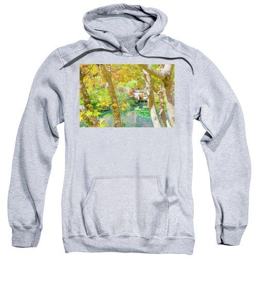 Japanese Garden Pond Sweatshirt