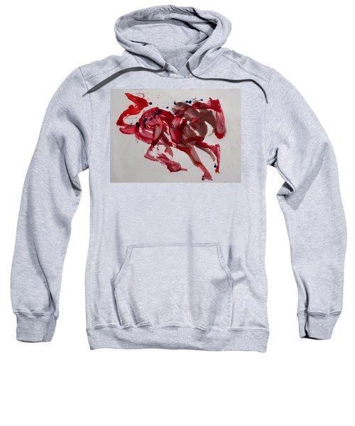 Japanese Horse Sweatshirt