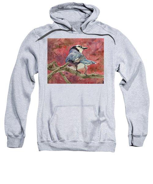 Jay In The Japanese Maple Sweatshirt