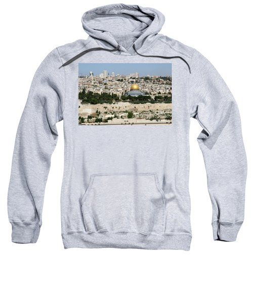 Jerusalem Skyline Sweatshirt