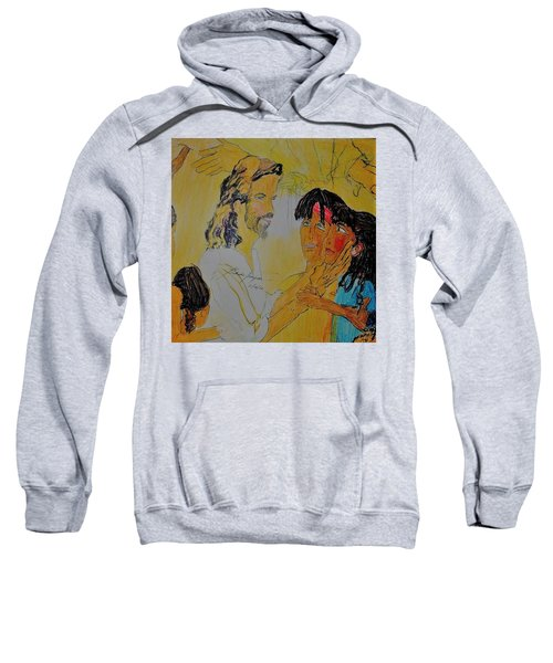 Jesus And The Children Sweatshirt