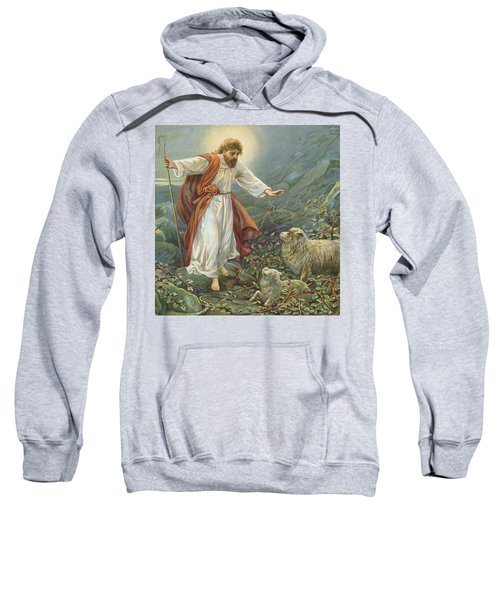 Jesus Christ The Tender Shepherd Sweatshirt