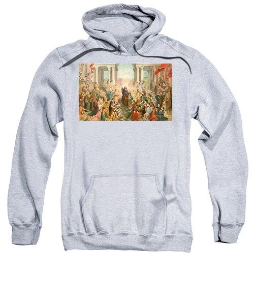 Jesus Entering Jerusalem Sweatshirt